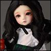 (6-7) Oenna Long Wig (Black)