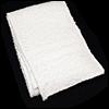 Model F - Free Style Long Towel (White)