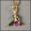SD & MSD - Little Prince Necklace (Green)