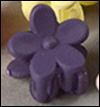 Mini Flower Pin (D Violet)