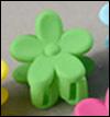 Mini Flower Pin (Green)