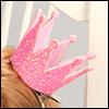 Yurijuri Crown Pin (Pink)