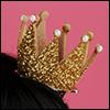 Yurijuri Pearl Crown Pin (Yellow Gold)