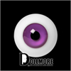 D - Basic 14mm Glass Eye (Y06)
