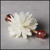 Spring Flower Pin (Cream White)