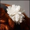 MSD & SD - S Flower Headband (White 482)