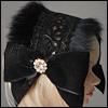 MSD & SD - Rabbit Fur Bonnet Headband (483)