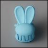 Mini Rabbit Pin (Sky)