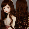 (13-14) Digital Wave Wig (Brown)