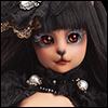 Catish Girl Doll - Intactly Reaa In Black - LE10
