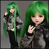 (7-8) Mos Long bang Wig (Green)