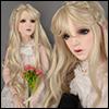 (13-14) Erica Long bang Wig (Blonde)