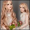 (13-14) Erica Long bang Wig (Pink)