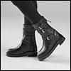 Alex & Zaoll - R&R Span Boots (Black)