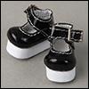 """12"""" KKP Shoes (Enamel Black)"""