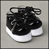 "12"" DMS Shoes (Enamel Black)"