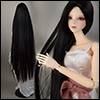 (8-9) Neo Risca Long Straight Wig (Black)