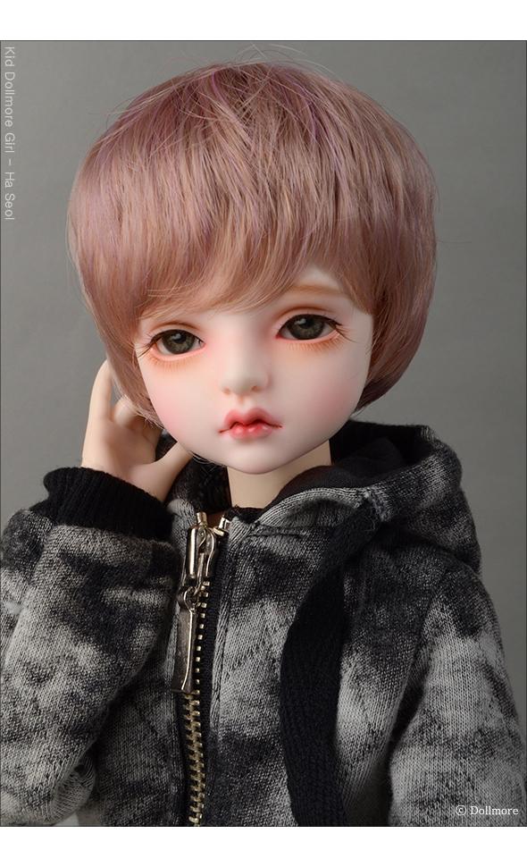 (7-8) Kam Short Cut Wig (D Pink)