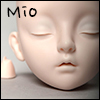 Dollmore Eve Doll Head - Closed Eyes Mio (Normal Skin)