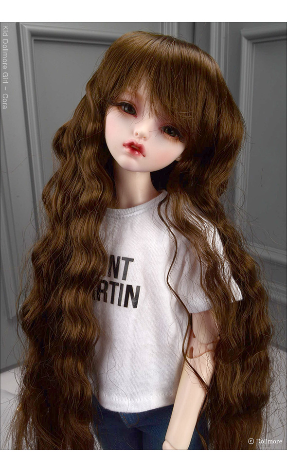 (7-8) Friendly Sobazu Wig (Brown)