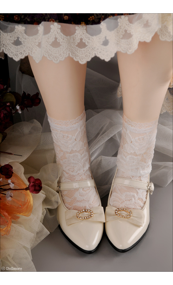 Trinity Doll - Hstern Ribbon Shoes (Enamel Cream)