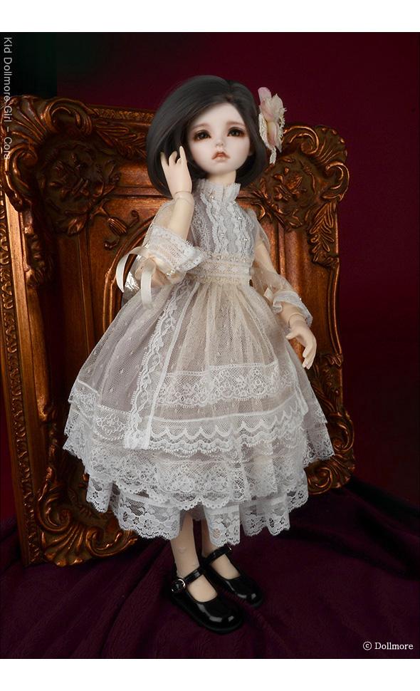 (선주문) MSD - NS-245 Dress Set (Ivory)