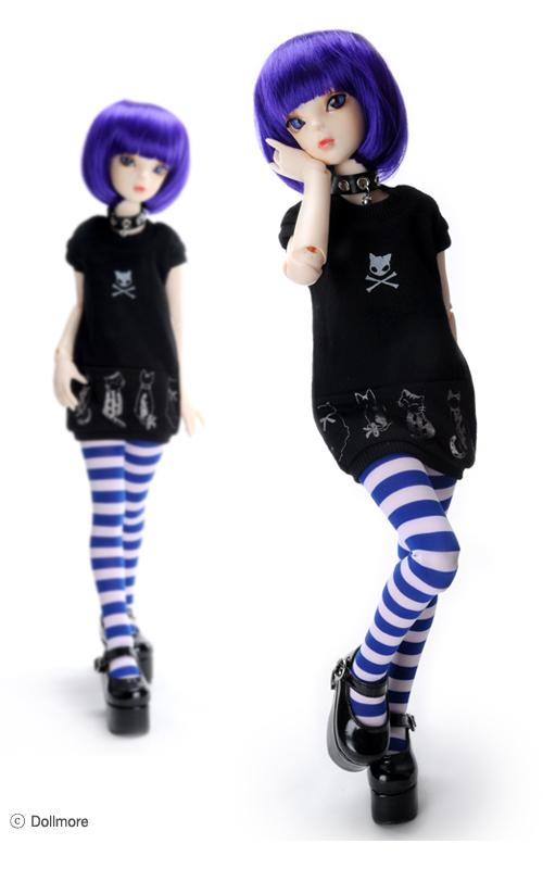 MSD - Cat Party T (Black)