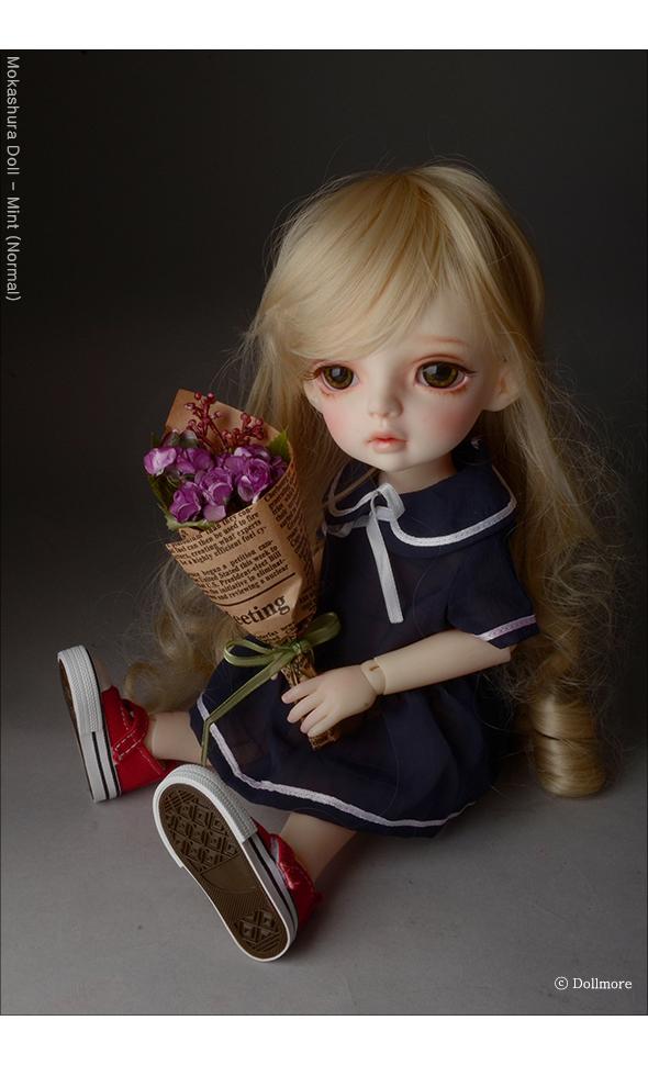 Middle Rose Flower Bouquet (Purple)