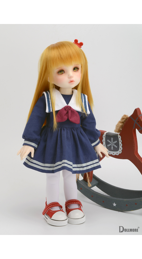 (선주문) Dear Doll Size - Briana Sailor Dress (Navy)