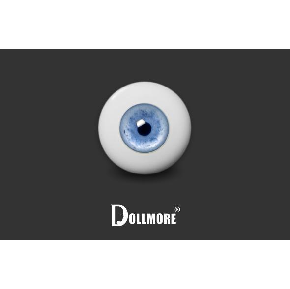 12mm - Contemporary Style Half-Round Acrylic Eyes (VS-01)