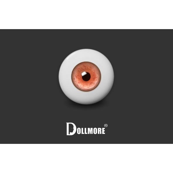 12mm - Contemporary Style Half-Round Acrylic Eyes (VS-04)
