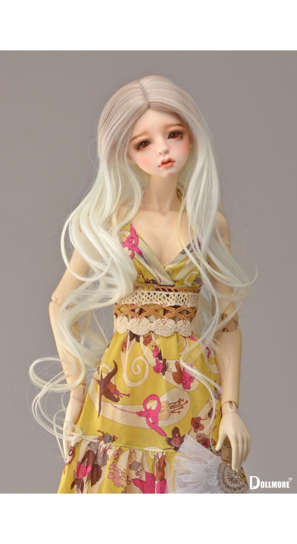 (선주문)(8-9)Rolla Sh Wave Wig (B White)