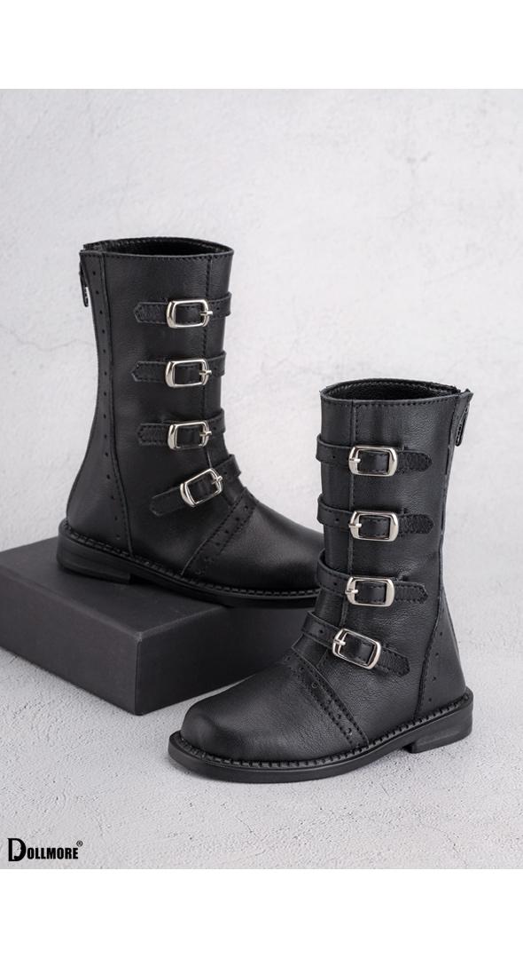 (선주문)Glamor Model - Duke Bukle Boots (Black)