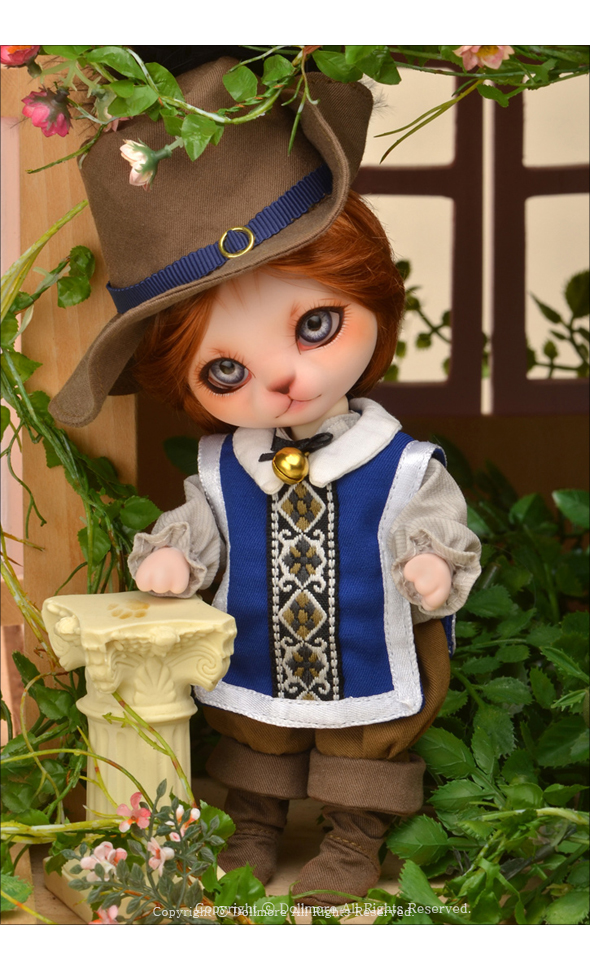 Bebe Doll Cat Boy - Puss in boots Charles - LE10